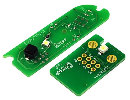 Vehicle indicator light switches
